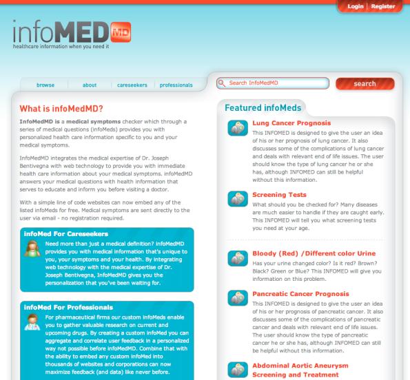infomedMD Web Design - Brookline, MA